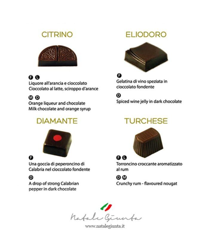 Cioccolatini gusti 1