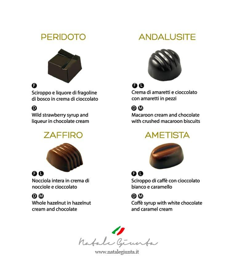 Cioccolatini gusti 2