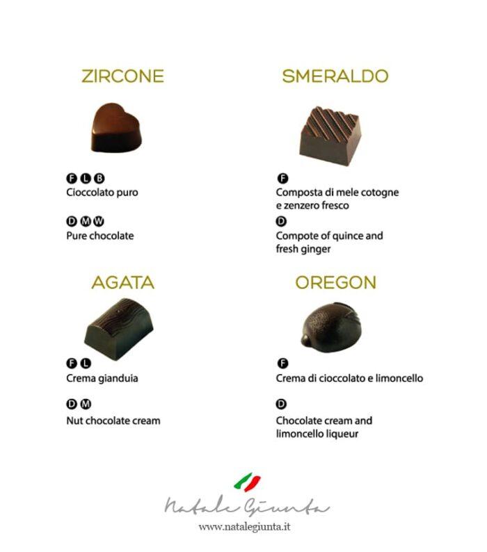 Cioccolatini gusti 3