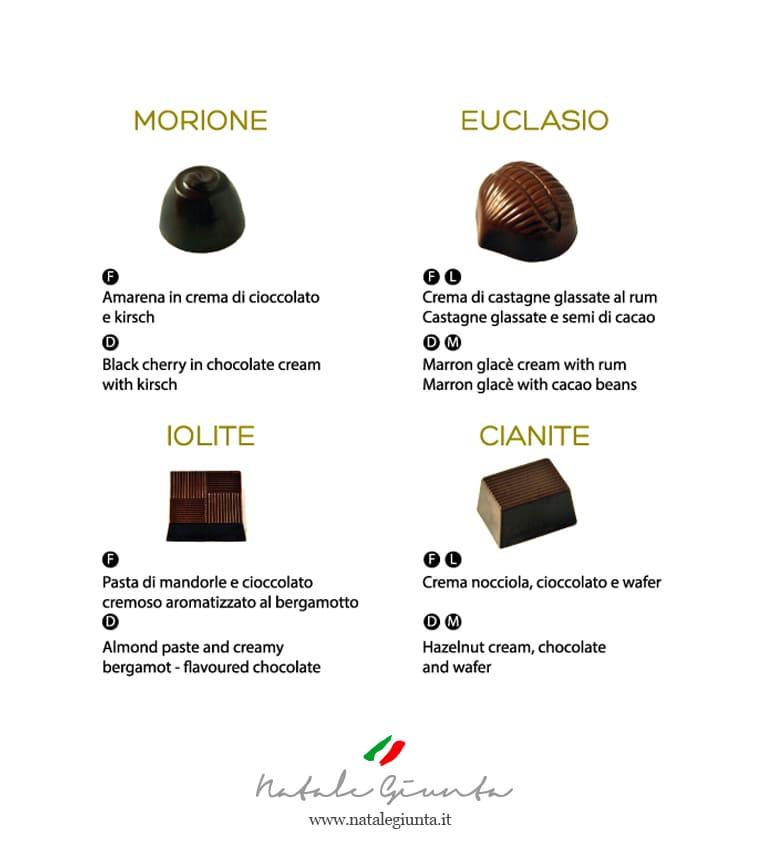 Cioccolatini gusti 5