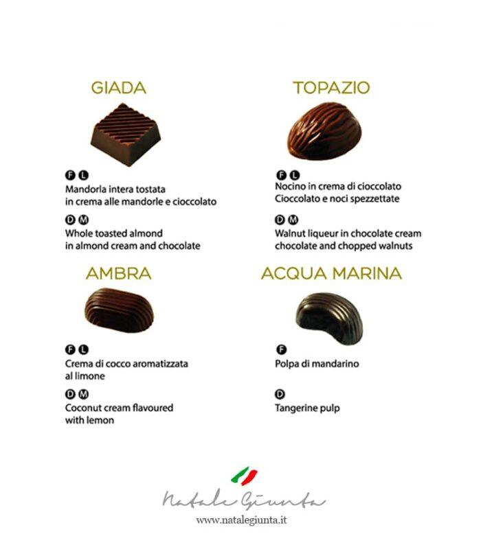 Cioccolatini gusti