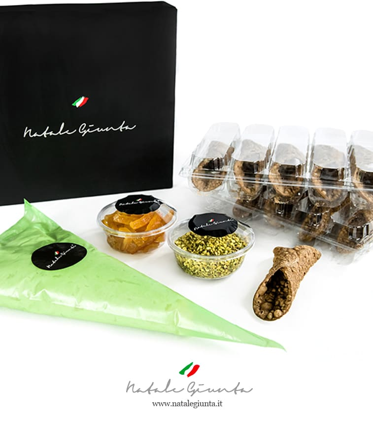 Kit cannoli siciliani espressi