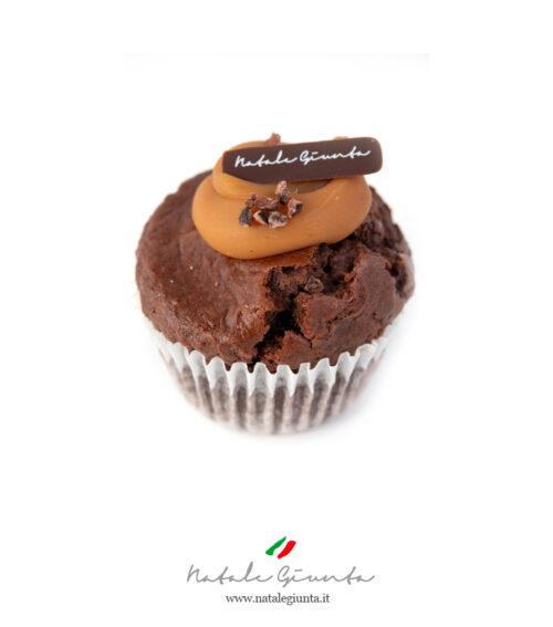 Muffin cioccolato e caramello mou