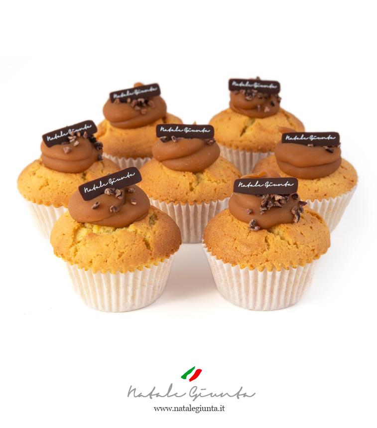 Muffin alla vaniglia e frutta secca