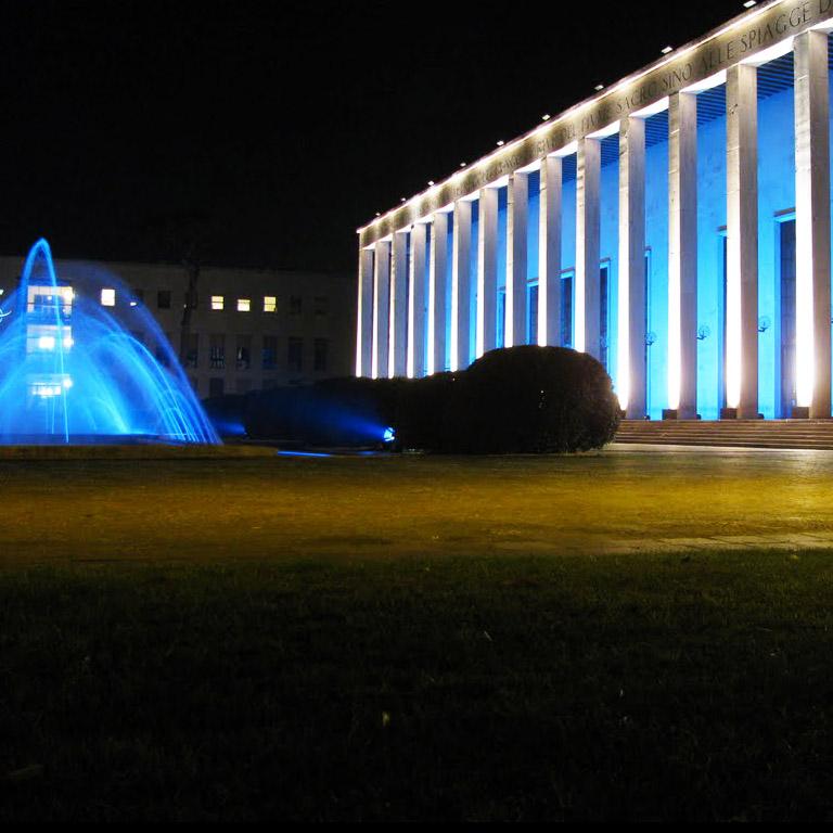 Palazzo delle fontane Roma